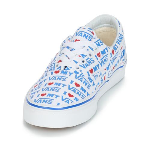 Mujer Era Vans Zapatillas Zapatos Bajas BlancoAzul uOXiTkPZw