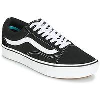 Zapatos Zapatillas bajas Vans COMFYCUSH OLD SKOOL Negro / Blanco
