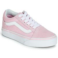 Zapatos Niña Zapatillas bajas Vans OLD SKOOL Rosa