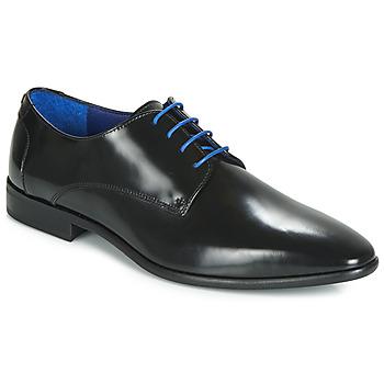 Zapatos Hombre Derbie Azzaro VALMI Negro