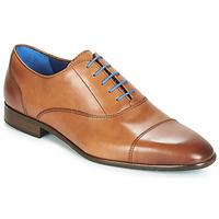 Zapatos Hombre Richelieu Azzaro RAELAN Cognac