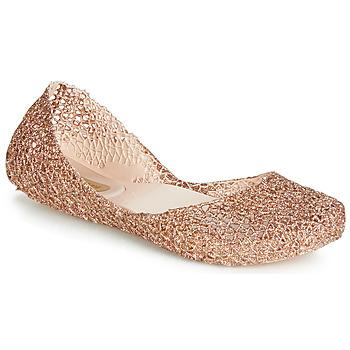 Zapatos Mujer Bailarinas-manoletinas Melissa CAMPANA PAPEL VII Oro