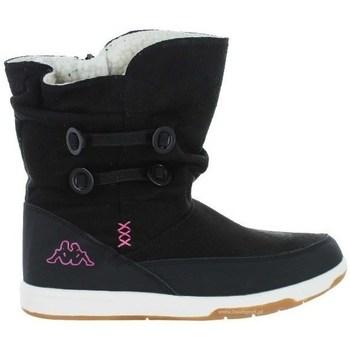 Zapatos Niños Botas de nieve Kappa Cream Negros