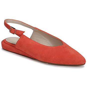 Zapatos Mujer Bailarinas-manoletinas Fericelli IKIRUA Rojo
