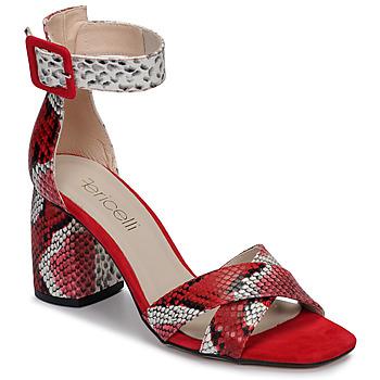 Zapatos Mujer Sandalias Fericelli JEZI Rojo