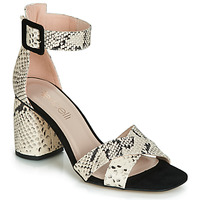 Zapatos Mujer Sandalias Fericelli JEZI Blanco / Negro