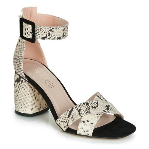Fericelli JEZI Blanco / Negro - Envío gratis | ! - Zapatos Sandalias Mujer