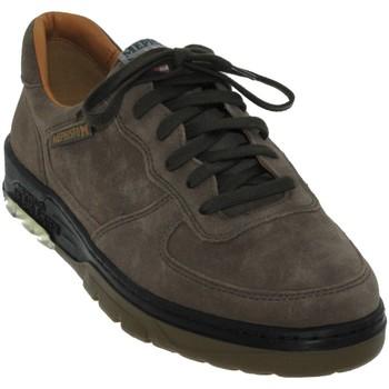 Zapatos Hombre Richelieu Mephisto Marek Terciopelo gris