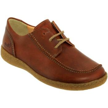 Zapatos Mujer Derbie Mephisto Enrika Cuero marrón