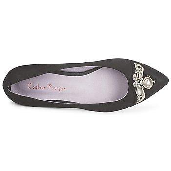 Couleur Pourpre TIMEA Negro - Envío gratis |  - Zapatos Bailarinas Mujer 8400