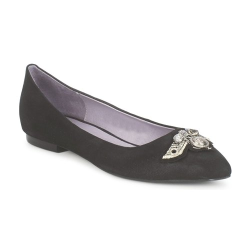 Casual salvaje Zapatos especiales Couleur Pourpre TIMEA Negro