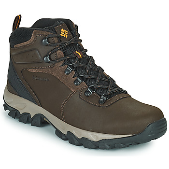 Zapatos Hombre Senderismo Columbia NEWTON RIDGE PLUS II WATERPROOF Marrón