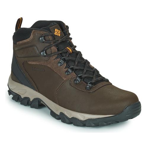 Zapatos Hombre Senderismo Columbia NEWTON RIDGE PLUS II WATERPROOF Marrón