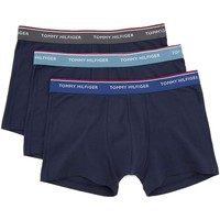 textil Hombre Boxer / Calzoncillos Tommy Hilfiger 1U87903842 TRUNK 3 PACK BLUE NAVY