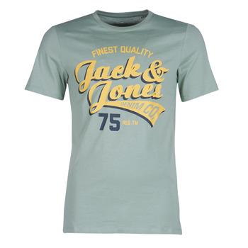 textil Hombre camisetas manga corta Jack & Jones JJELOGO Verde