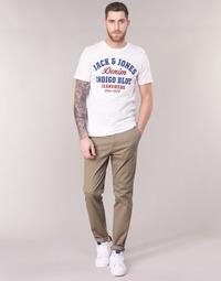 textil Hombre pantalones chinos Jack & Jones JJIMARCO Beige