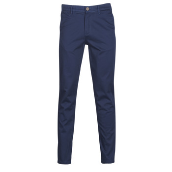 textil Hombre pantalones chinos Jack & Jones JJIMARCO Marino