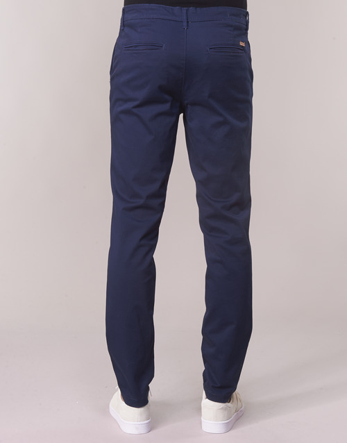 Marino Textil Hombre Chinos Jackamp; Jones Jjimarco Pantalones MpSqUzV