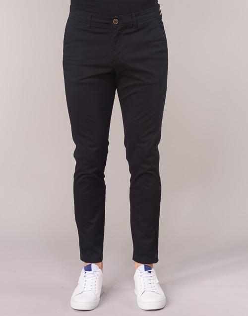 Negro Pantalones Textil Jones Jackamp; Jjimarco Chinos Hombre L3R5A4j