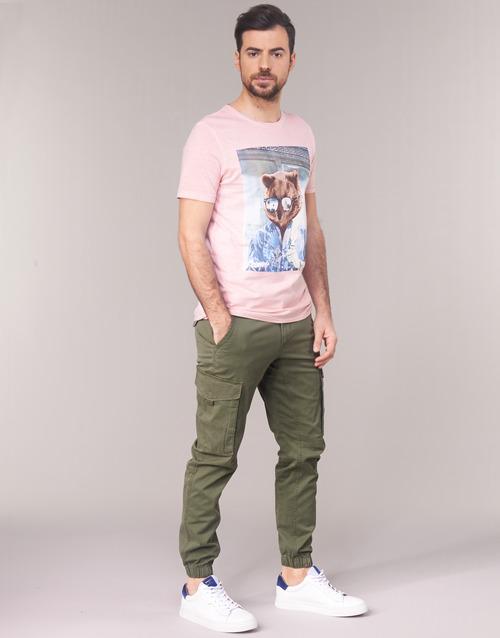 Hombre Pantalón Jones Textil Jackamp; Jjipaul Cargo Kaki 3RA5L4jq
