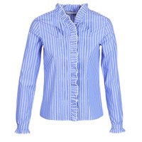 textil Mujer camisas Maison Scotch LONG SLEEVES SHIRT Azul / Claro