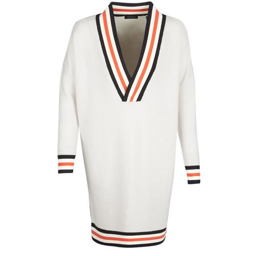Maison Scotch WHITE LONG SLEEVES Blanco / Crema - Envío gratis | ! - textil jerséis Mujer