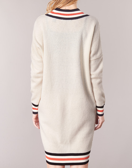 BlancoCrema Jerséis White Long Textil Mujer Sleeves Scotch Maison hCsdtQr