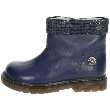 Zapatos Niños Botas de caña baja Blumarine C1204 Azul