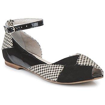 Zapatos Mujer Bailarinas-manoletinas Mosquitos DELICE Negro