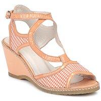 Zapatos Mujer Sandalias Mosquitos HOURA Naranja