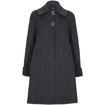 textil Mujer Abrigos De La Creme Abrigo de invierno de cachemir de lana columpio Grey