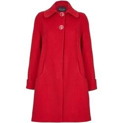 textil Mujer Abrigos De La Creme Abrigo de invierno de cachemir de lana columpio Red