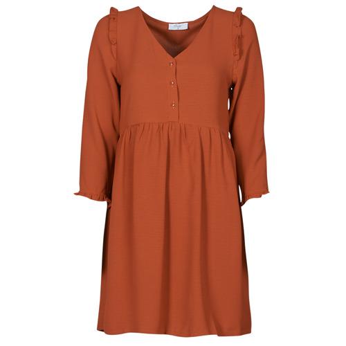 Betty London JABALA Marrón - Envío gratis | ! - textil vestidos cortos Mujer