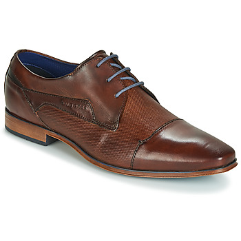 Zapatos Hombre Derbie Bugatti TROISKATR Marrón