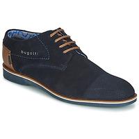 Zapatos Hombre Derbie Bugatti TOUZETTE Azul