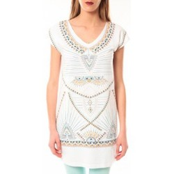 textil Mujer camisetas manga corta Little Marcel Robe E15WDRE0318 Riolo Blanc Blanco