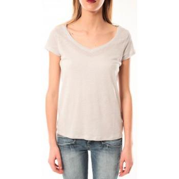 textil Mujer camisetas manga corta Little Marcel T-Shirt Talin E15FTSS0116 Gris Moyen Gris