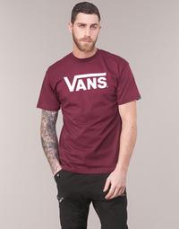 textil Hombre Camisetas manga corta Vans VANS CLASSIC Burdeo