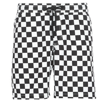 textil Hombre Shorts / Bermudas Vans RANGE SHORT 18 Negro / Blanco