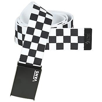 Accesorios textil Cinturones Vans LONG DEPSTER WEB BELT Negro / Blanco