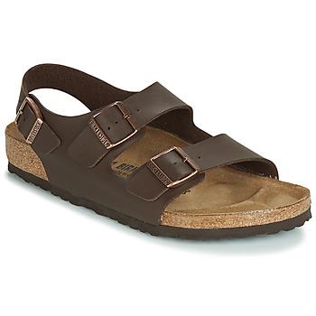 Zapatos Hombre Sandalias Birkenstock MILANO Brown