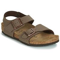 Zapatos Niño Sandalias Birkenstock NEW YORK Brown