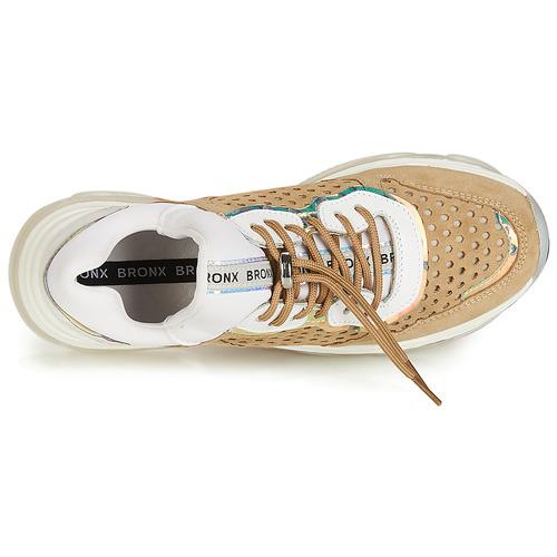 Bajas BlancoMarrón Bronx Mujer Zapatillas Zapatos Baisley 8m0vnwN
