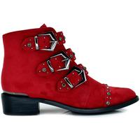 Zapatos Mujer Botines Exé Shoes BOTINES HEBILLAS ROJO M17B799-01 Color Rojo