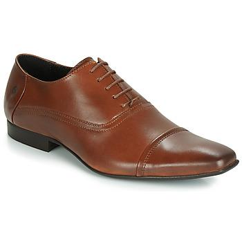 Zapatos Hombre Richelieu Carlington ETIPIQ Cognac