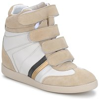 Zapatos Mujer Zapatillas altas Serafini MANATHAN SCRATCH Blanco-beige-azul