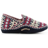 Zapatos Mujer Pantuflas Nordikas 2000 azul bleu