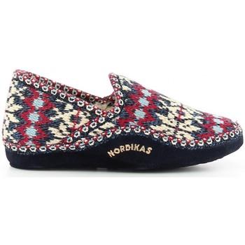 Zapatos Mujer Pantuflas Nordikas 2000 bleu