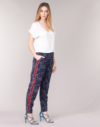 textil Mujer Pantalones fluidos Kaporal BABY Marino / Multicolor