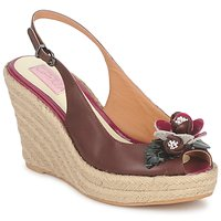 Zapatos Mujer Sandalias C.Petula GLORIA Marrón / Fucsia